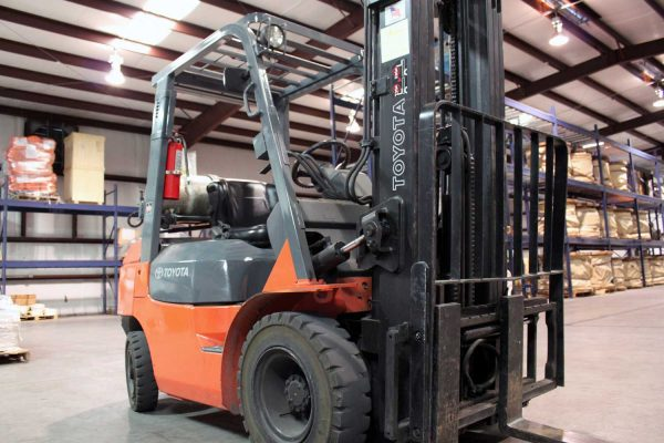 forklift warehousing customs
