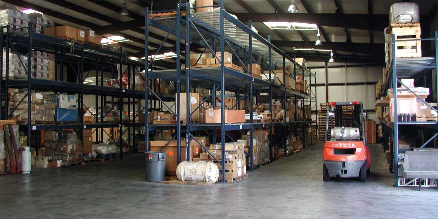 secure warehousing customs